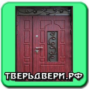 железные двери на холл